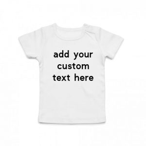 Coda Design Studio - Personalised Clothing for the Whole Family - Baby Tee White Custom