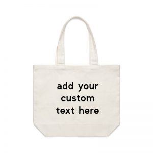 Coda Design Studio - Personalised Clothing & Accessories for the Whole Family - Cotton Canvas Tote Bag Custom