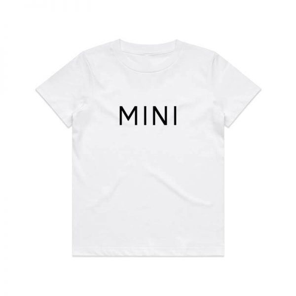 Coda Design Studio - Personalised Clothing for the Whole Family - Kids Tee White Mini