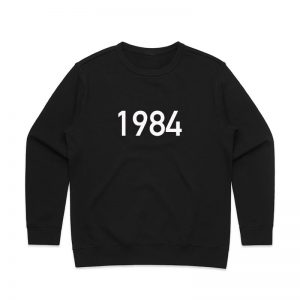 Coda Design Studio - Personalised Clothing for the Whole Family - Womens Jumper Black Year