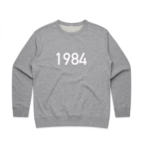 Coda Design Studio - Personalised Clothing for the Whole Family - Womens Jumper Grey Year