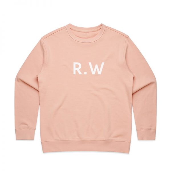 Coda Design Studio - Personalised Clothing for the Whole Family - Womens Jumper Pink Initials