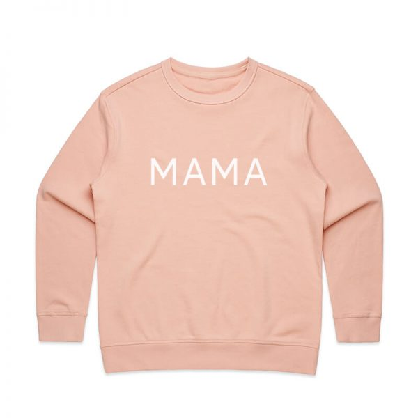 Coda Design Studio - Personalised Clothing for the Whole Family - Womens Jumper Pink Mama