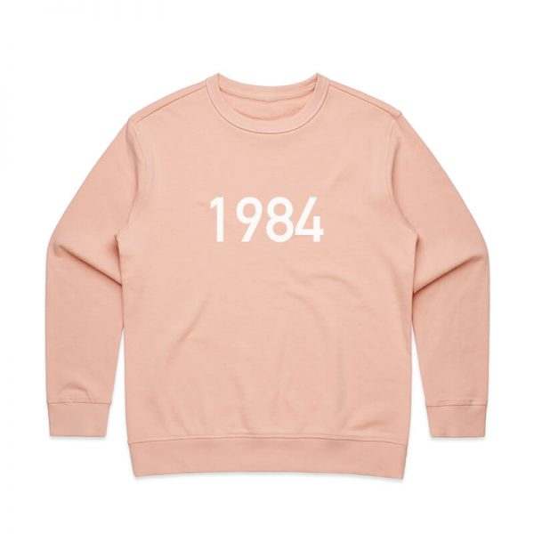 Coda Design Studio - Personalised Clothing for the Whole Family - Womens Jumper Pink Year
