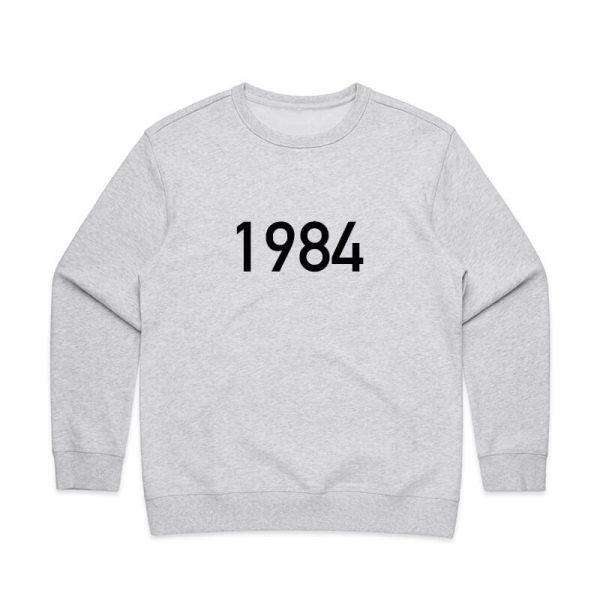 Coda Design Studio - Personalised Clothing for the Whole Family - Womens Jumper White Marle Year