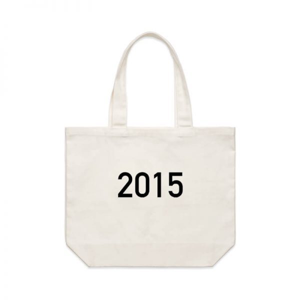 Coda Design Studio - Personalised Clothing & Accessories for the Whole Family - Cotton Canvas Tote Bag Year